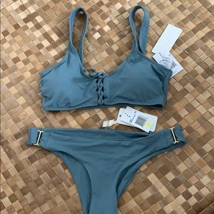 L Space Romi top and Rosemary bottoms set